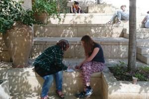 Im Shalom-Hartmann-Institut (West-Jerusalem) – Die Schüler/innen reflektieren ihre Erfahrungen
