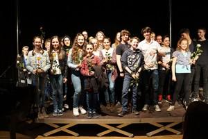 Gemeinsam erlebten alle Teilnehmer des Kammerkonzertes ihren Schlußapplaus