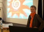 Angela Kling beim 2. Finkenwerder Elternforum