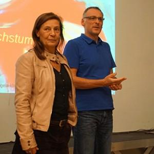 Cerstin Rose und Patrick Grommes, Elternräte der STS und des GymFi
